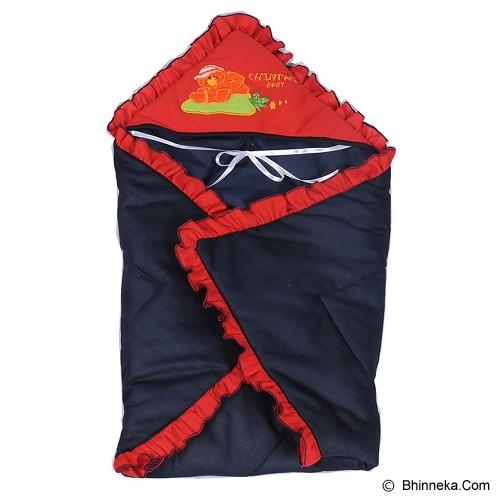 CHINTAKA Baby Blanket + Topi Bordir [CBB 120100N] - Red Navy - Perlengkapan Tempat Tidur Bayi dan Anak